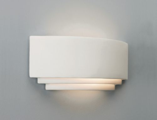 Ceramic & plaster wall lights